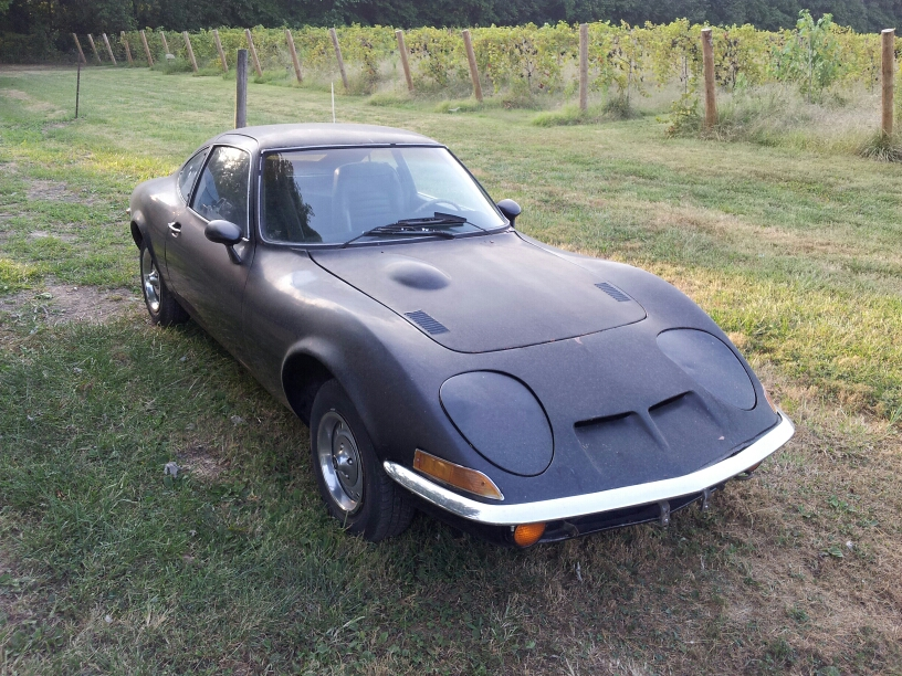 72 opel gt for my son